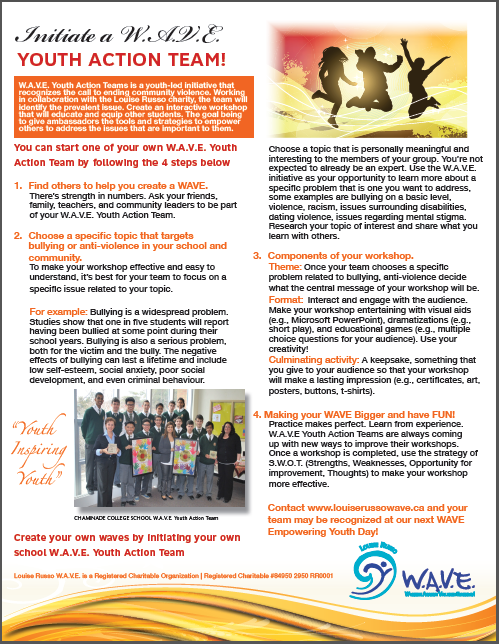 Youth Action Team Flyer
